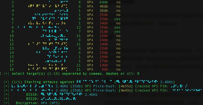 WPS vulnerability